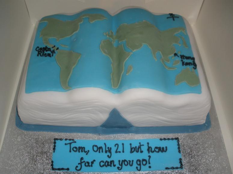 Word Traveller's Cake