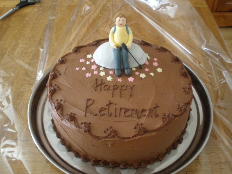 Happy Retirement Cake for Someone very Special!ERA