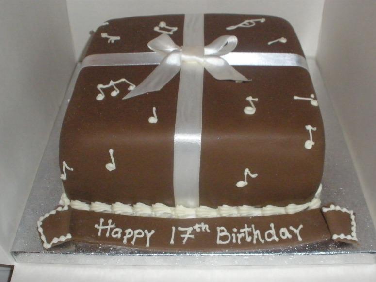 Music Lover's Cake