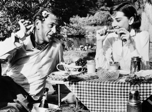 Gary Cooper,Audrey Hepburn;Picnic;Movie